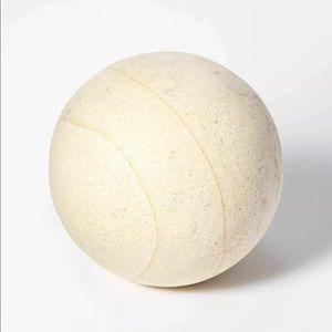 "Studio McGee 4"" Decorative Stone Wood Lime Ball"